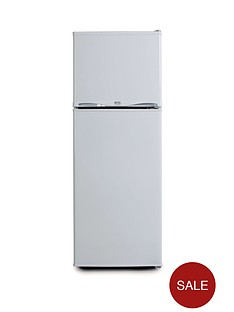 swan-ser5320w-48cm-freezer-over-fridge-white
