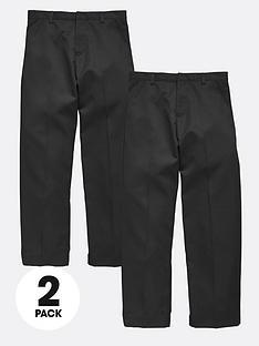 top-class-plus-fit-boys-school-uniform-flat-front-trousers-2-pack