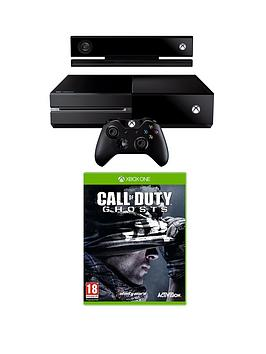 xbox-one-console-with-kinect-call-of-duty-ghosts-and-optional-3-or-12-months-xbox-live