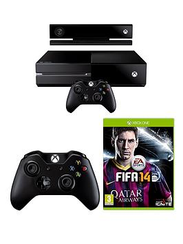 xbox-one-console-with-kinect-fifa-14-extra-controller-and-optional-3-or-12-months-xbox-live
