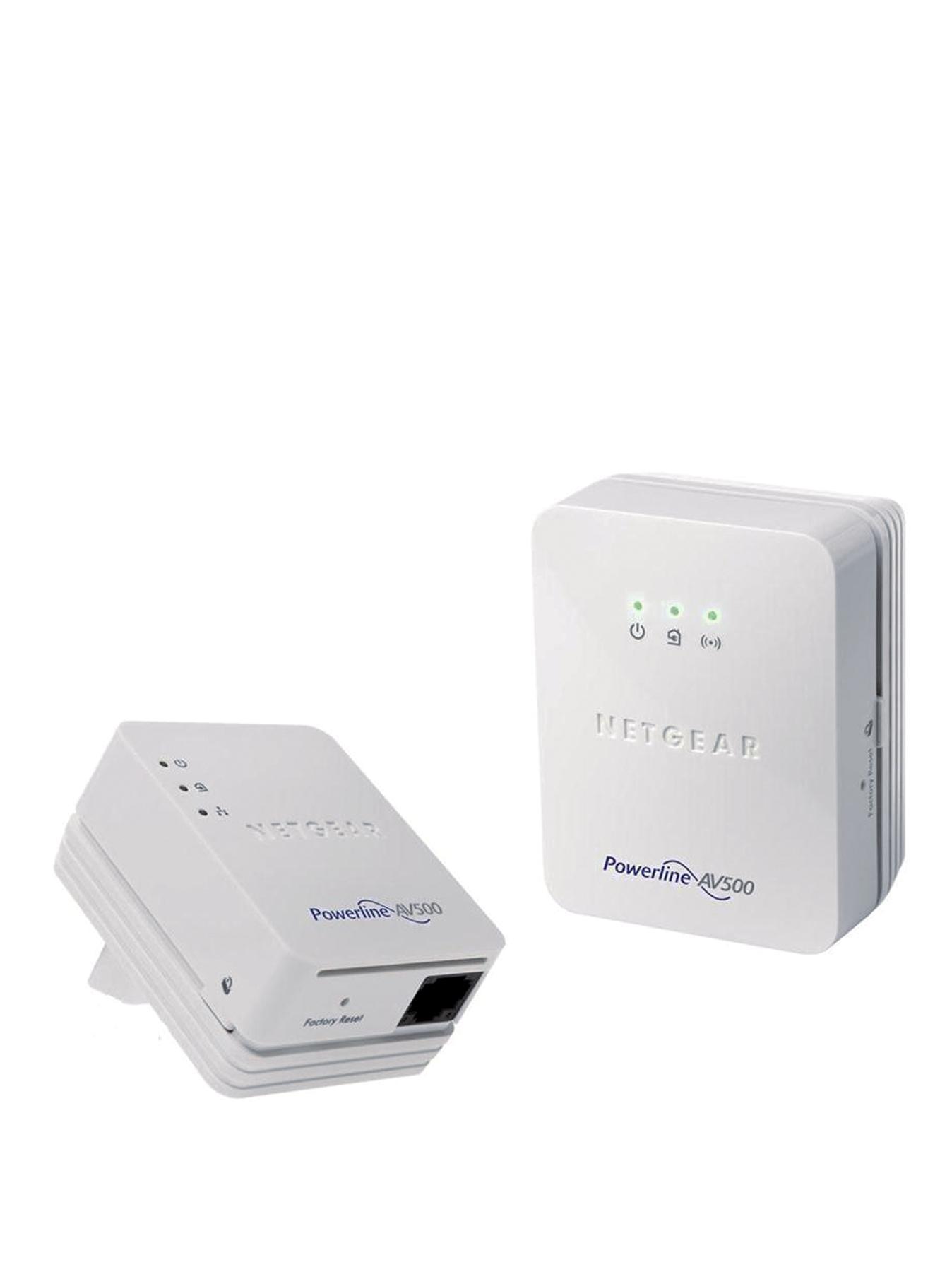 Netgear NETXWNB5201 Powerline 500Mbps WiFi Extender/Access Point