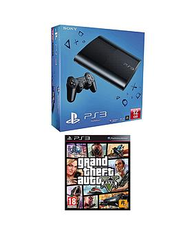 playstation-3-12gb-console-and-grand-theft-auto