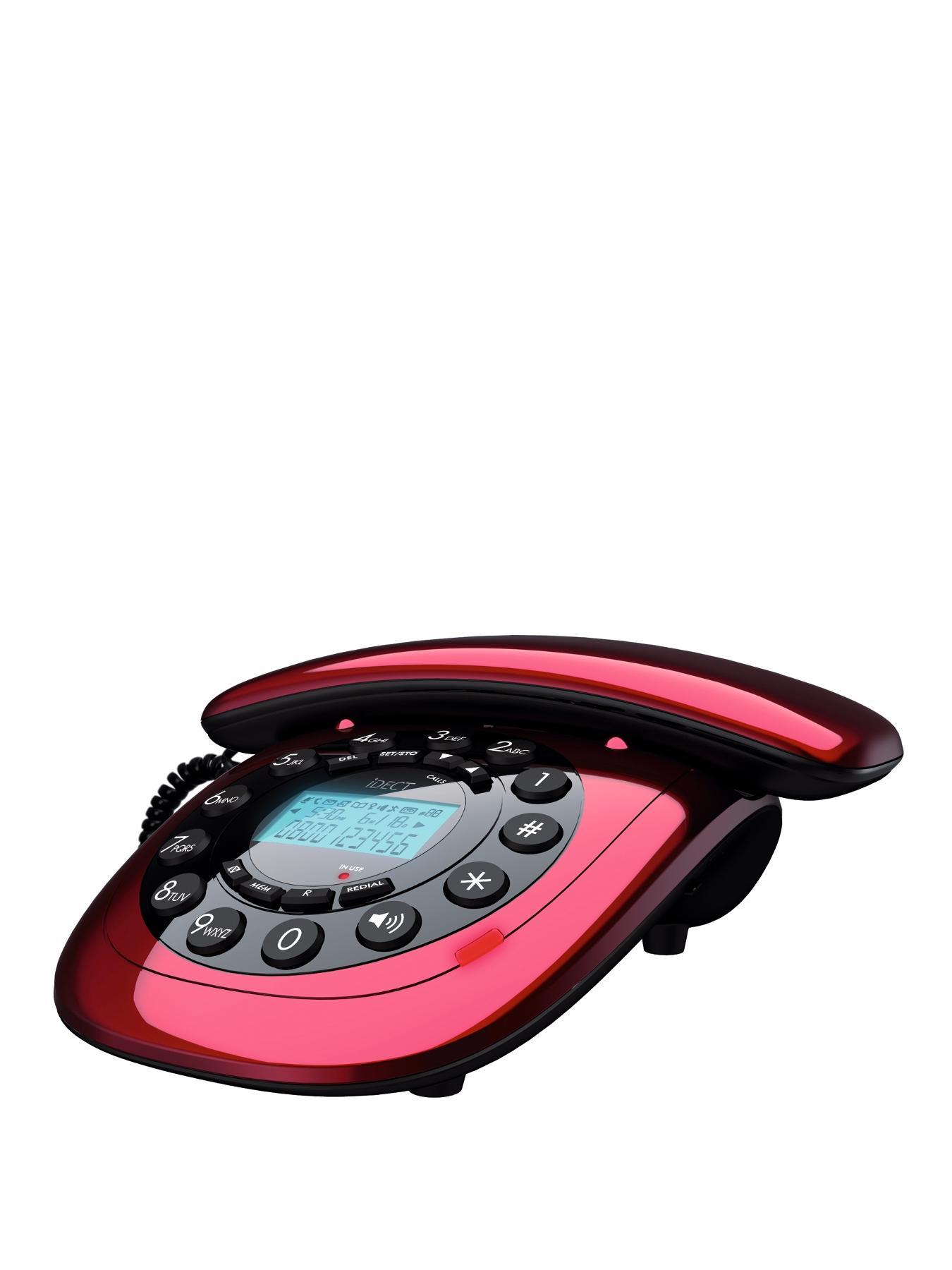 iDect Carrera Classic Corded Non Tam Phone