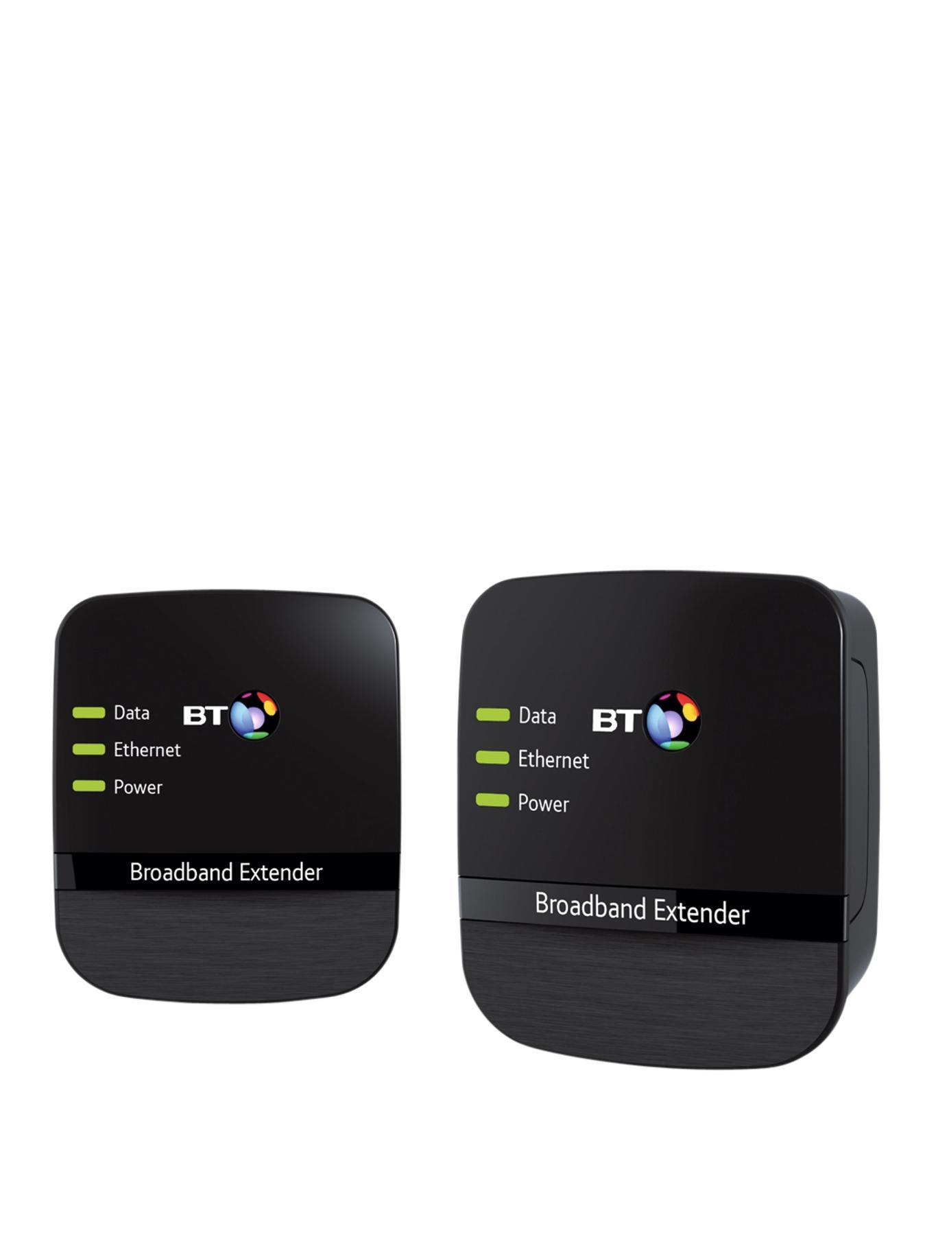 BT Broadband Extender 500 Kit - Black