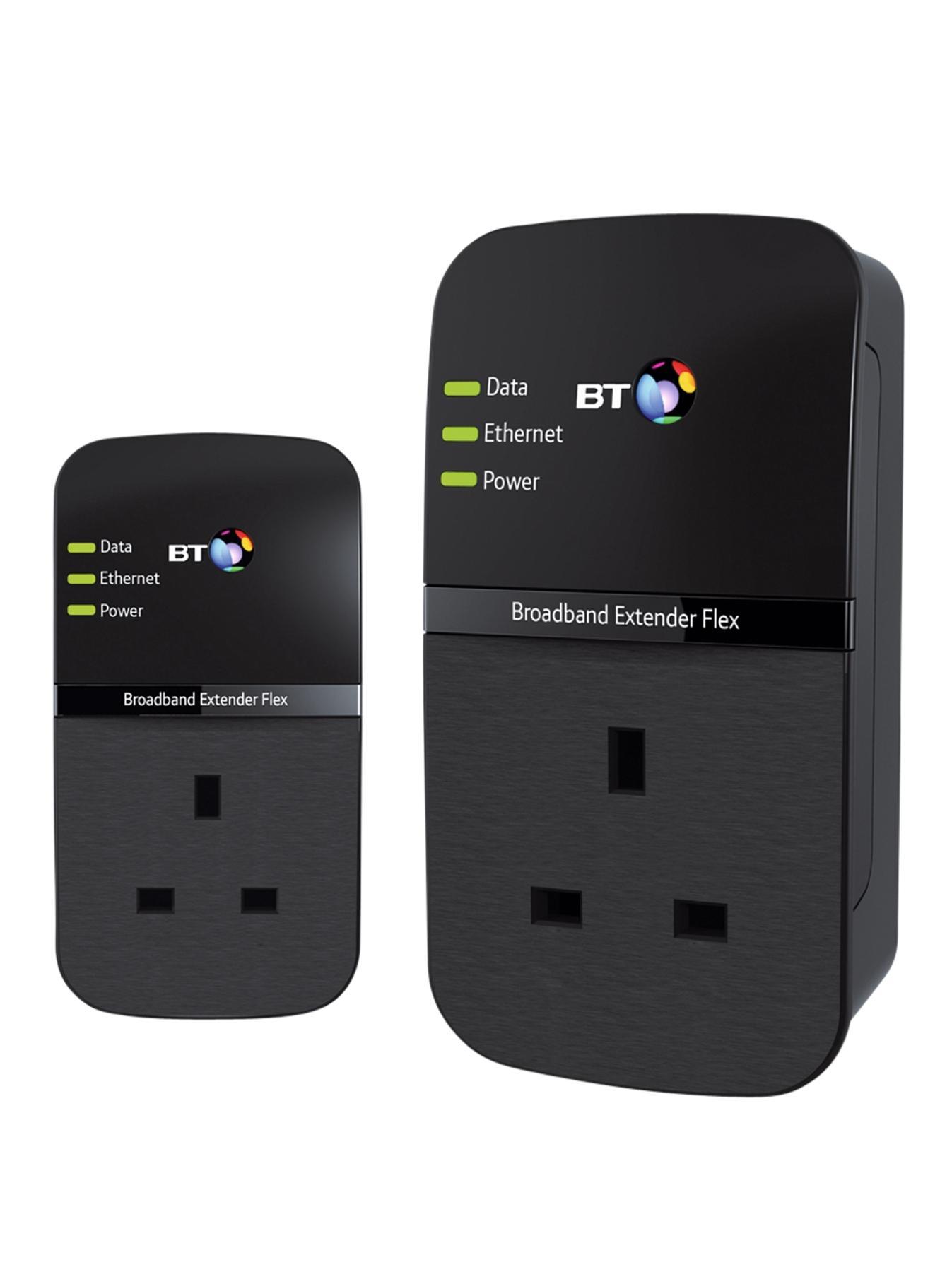 BT Broadband Extender Flex 500 Kit - Black