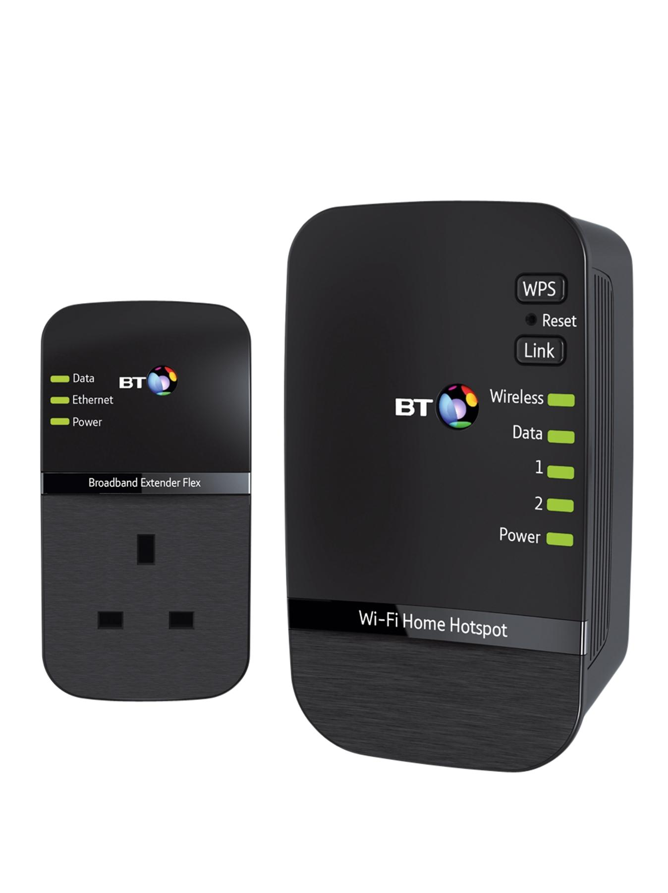 BT Wi-Fi Home Hotspot 500 Kit - Black