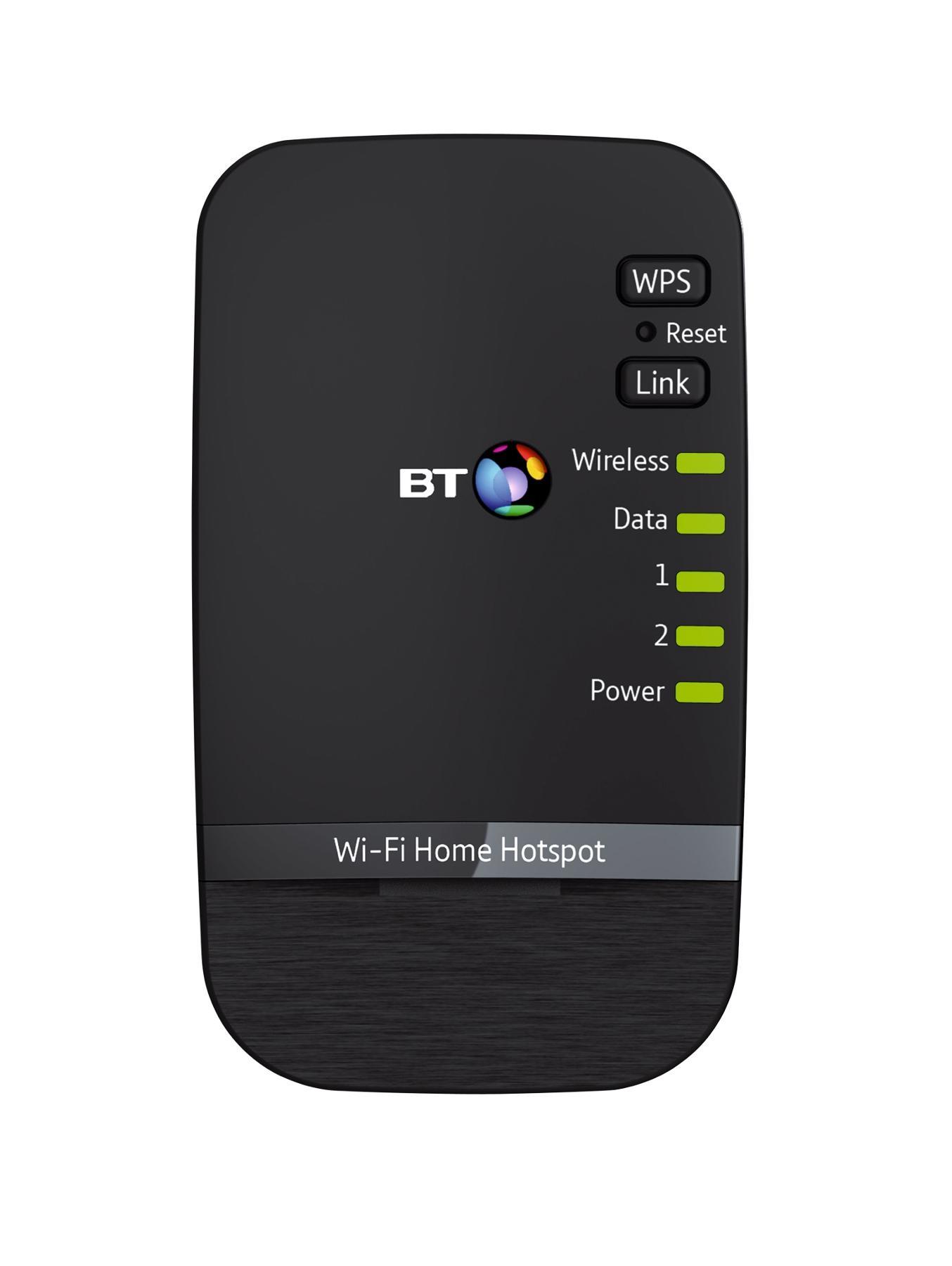 BT Wi-Fi Home Hotspot 500 Add-on - Black