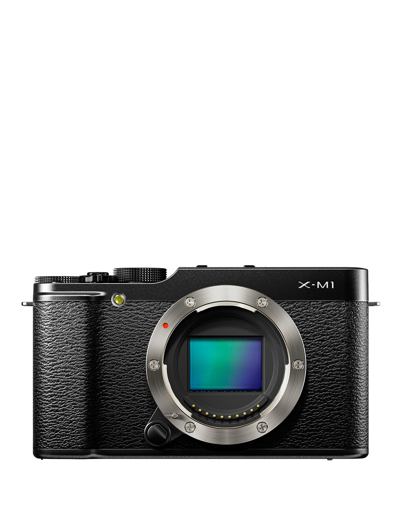 Fuji X-M1 16.3 Megapixel Camera - Body Only - Black, Black
