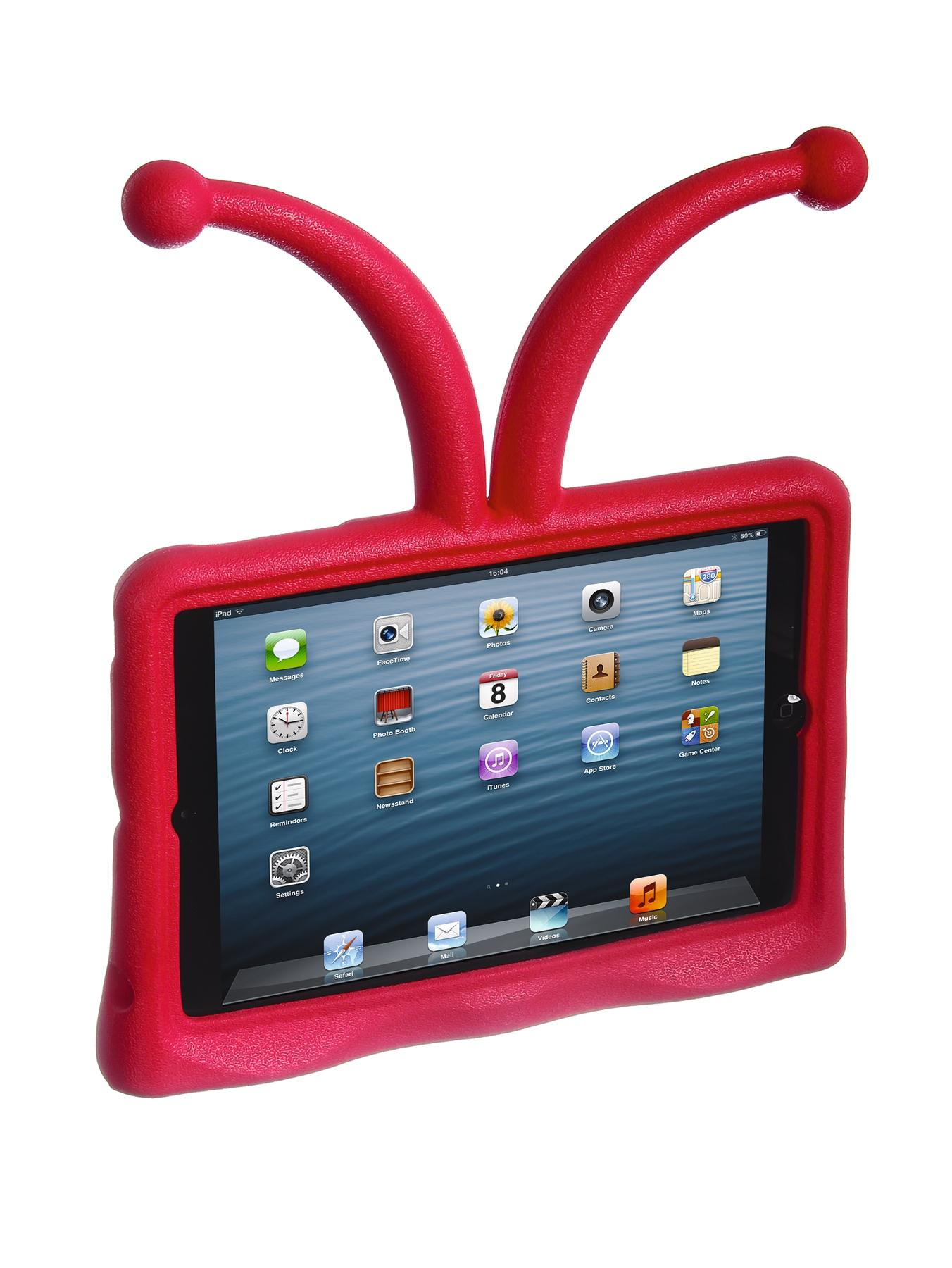 Case It Antennae Protective Child Friendly Stand Case for iPad Mini - Red