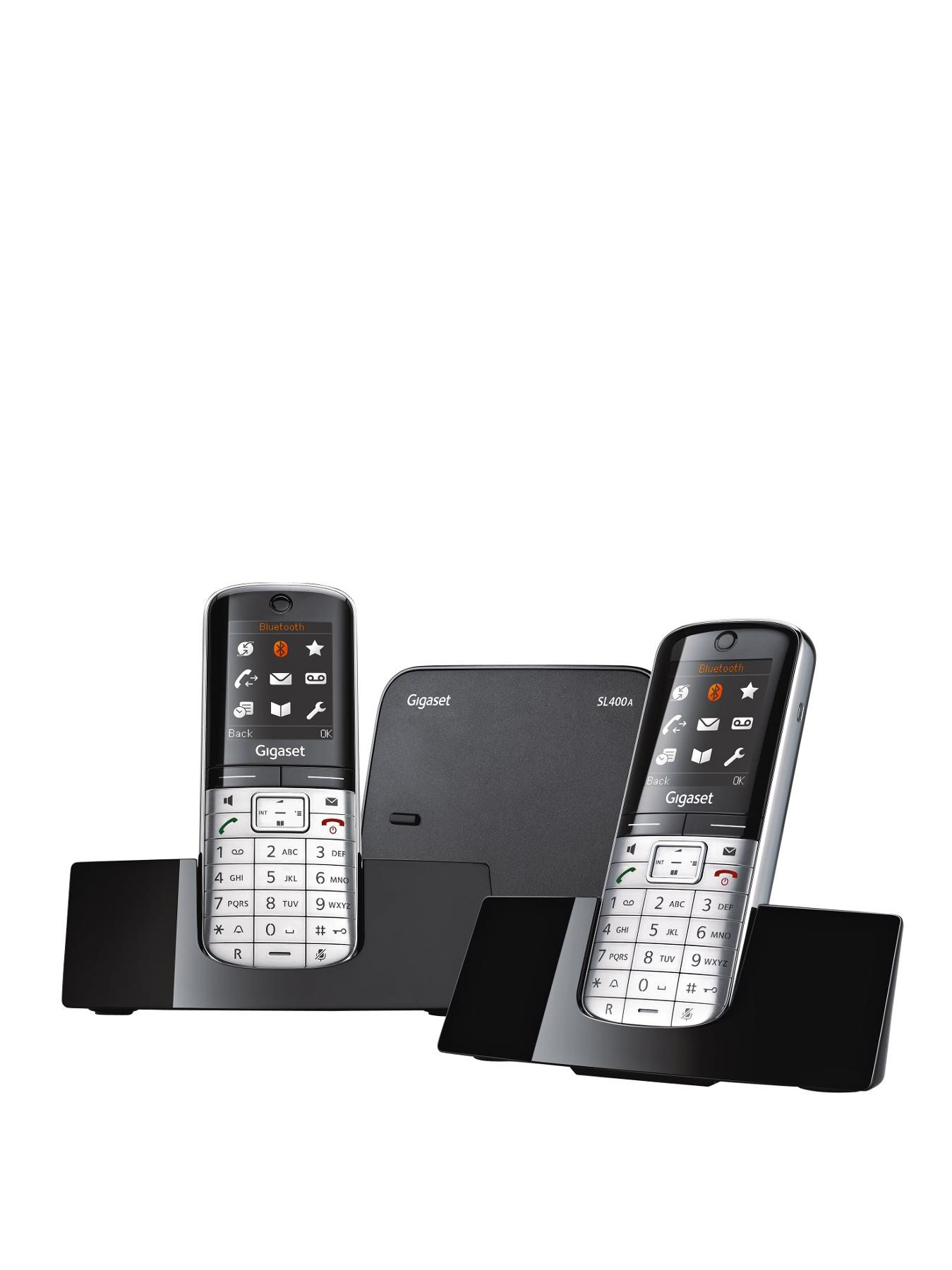 Gigaset SL400A Duo DECT Cordless Phone