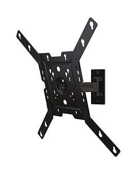 peerless-av-tv-wall-mount-pivot-black-32-46-inch