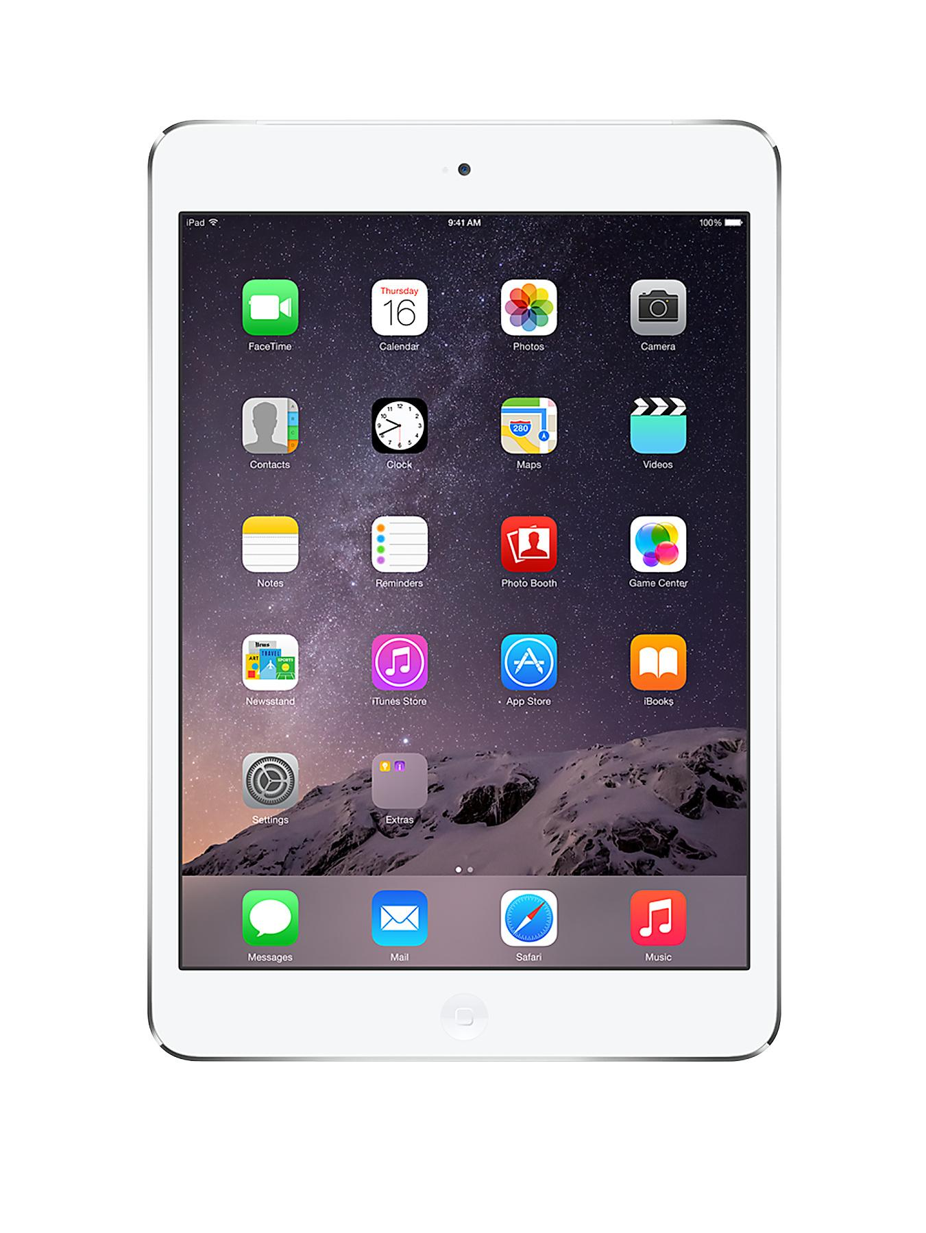 Apple iPad mini 2 16Gb Cellular - White/Silver