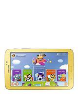 Galaxy Tab 3 Kids Dual Core Processor, 1Gb RAM, 8Gb Storage, Wi-Fi, 7 inch Tablet - Yellow