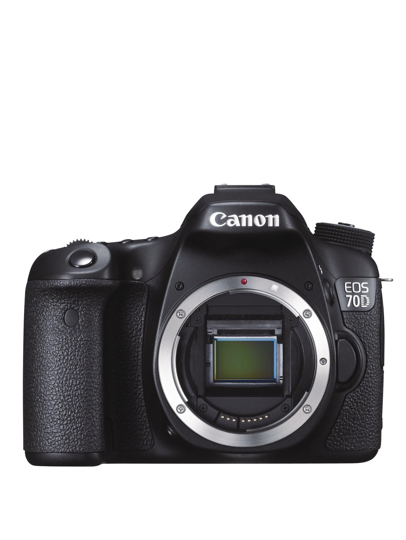 Canon EOS 70D SLR 20.2 Megapixel Camera Body Only at Very, from Littlewoods