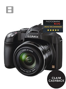 panasonic-pound60-cashbacksup1-dmc-fz72eb-k-161-megapixel-digital-camera-with-20mm-ultra-wide-angle-lens-and-60x-ultra-zoom