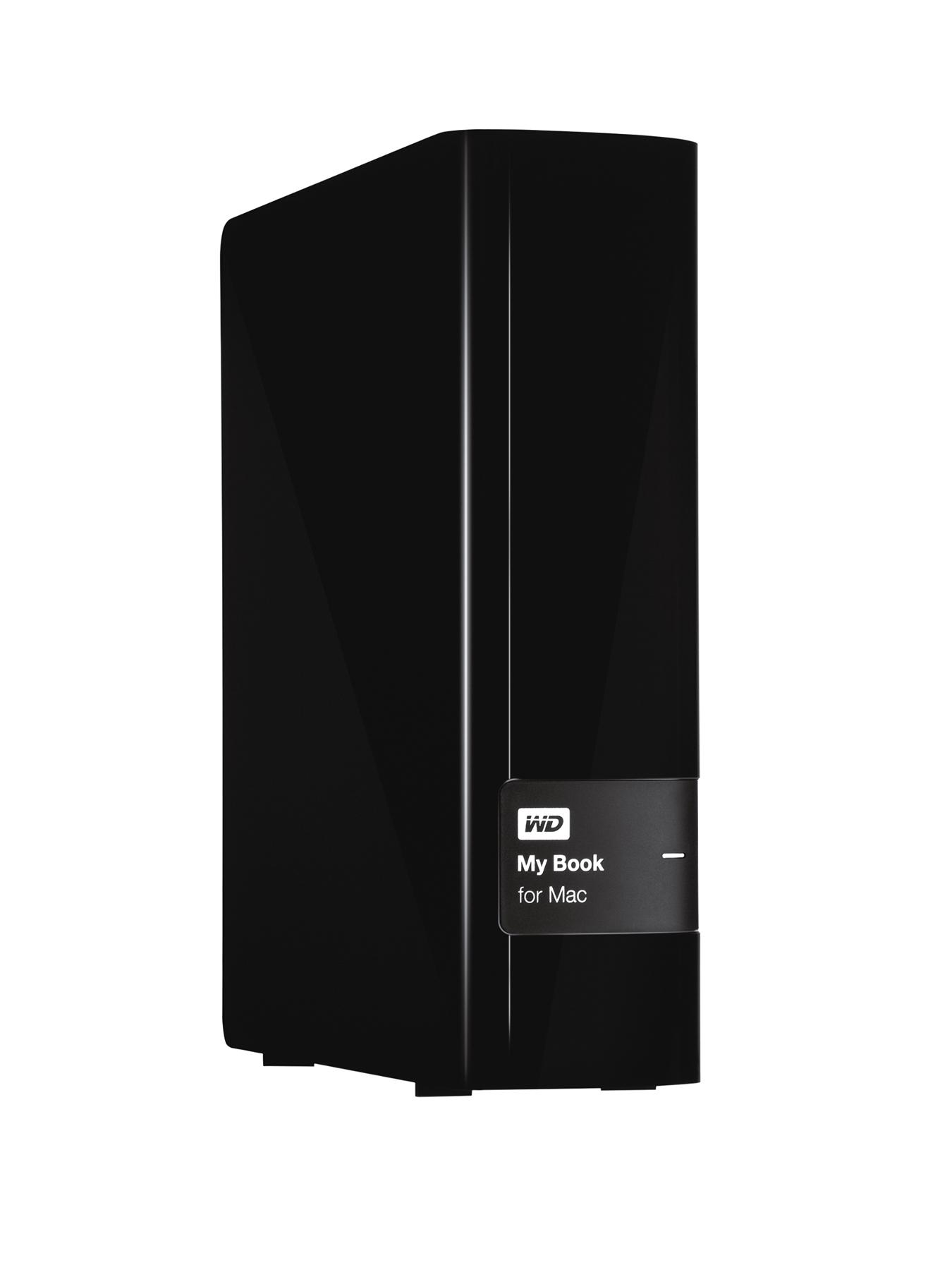 Western Digital My Book for Mac 3Tb Desktop External Hard Drive - Black