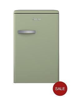 swan-sr11030gn-55cm-retro-larder-fridge-green