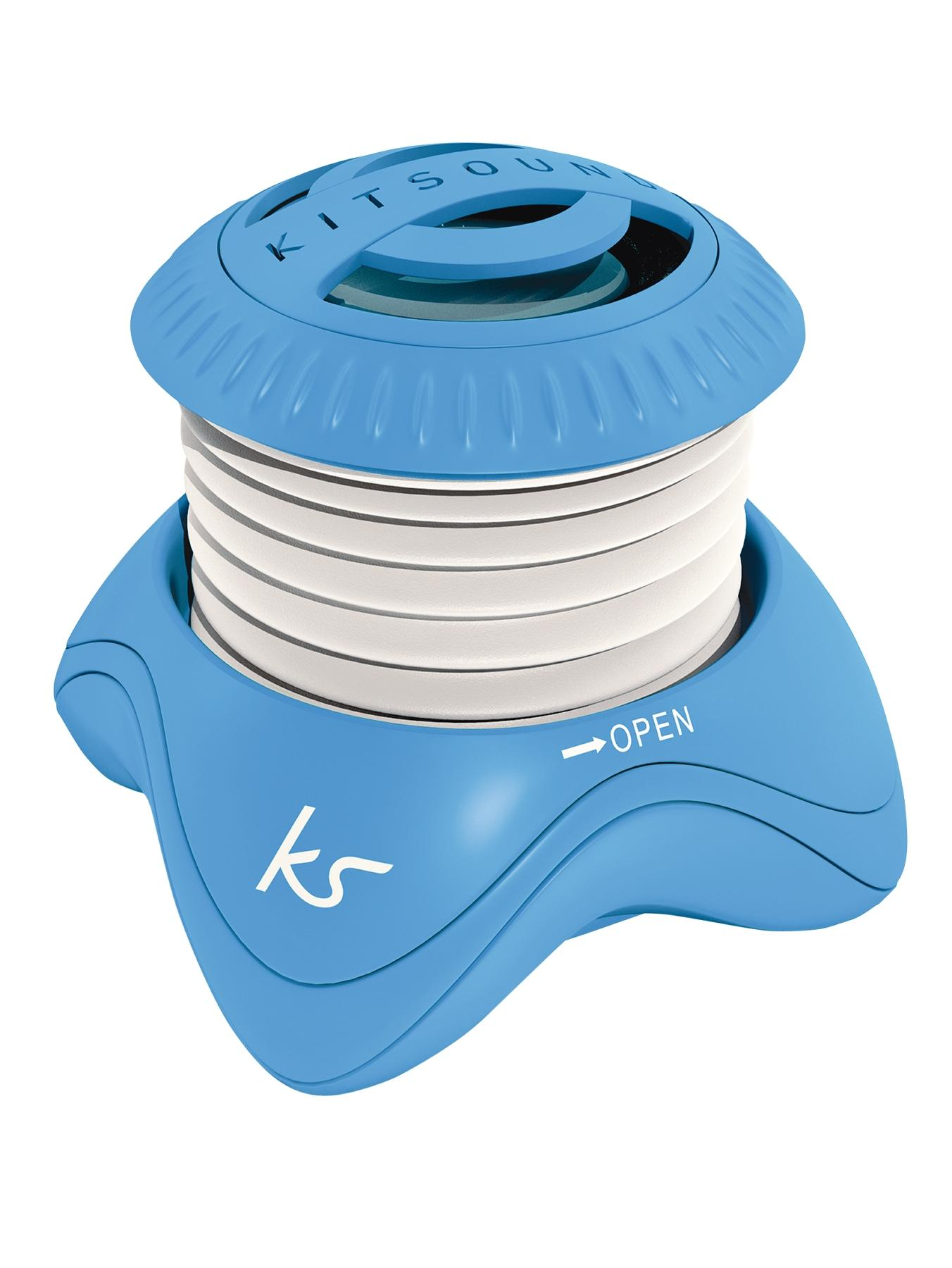 Kitsound Portable Capsule Speaker - Blue