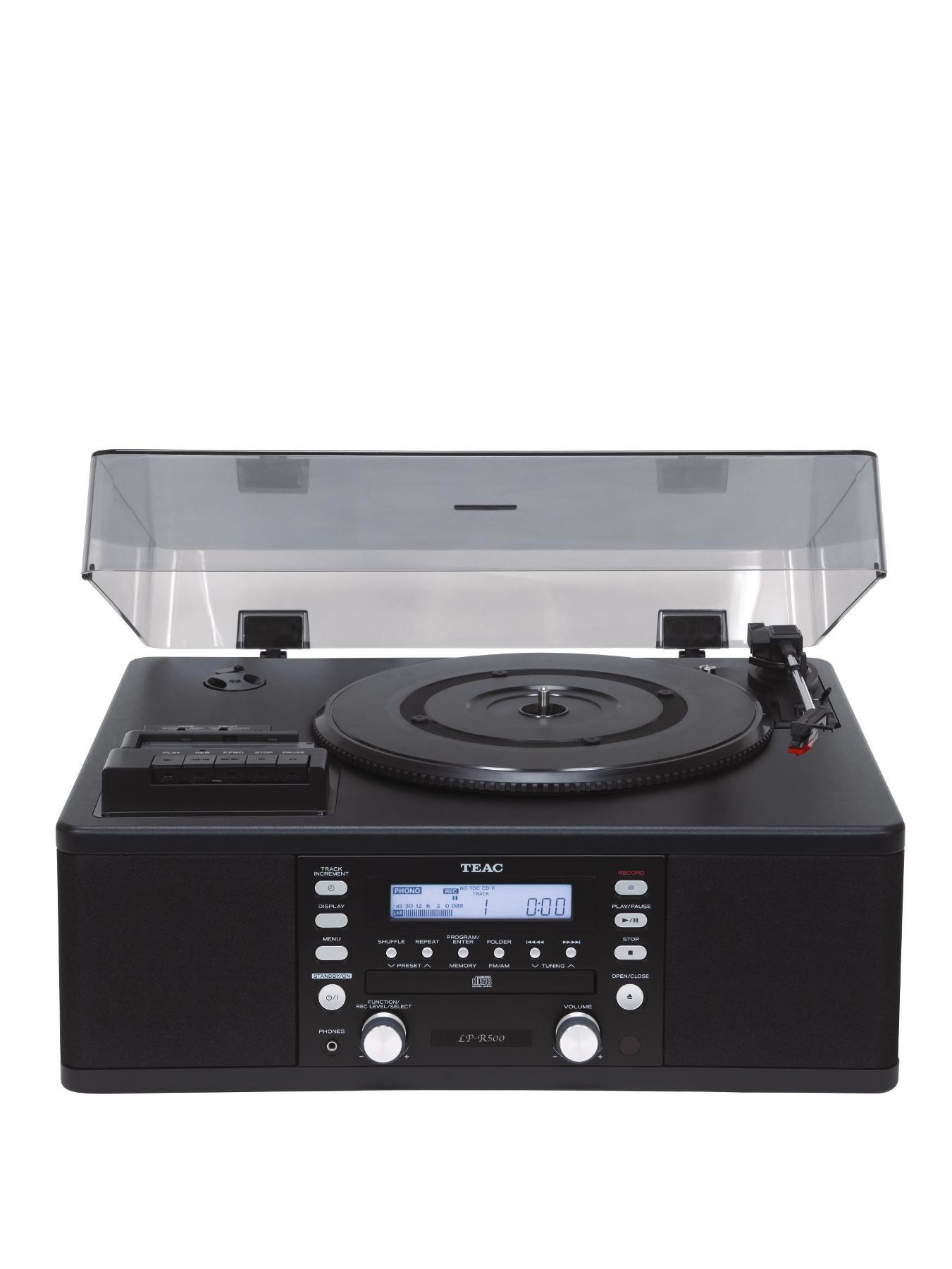 Teac LP-R500A/BK Copy Station - Black