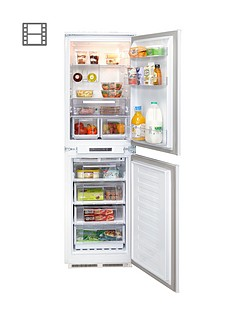 hotpoint-aquarius-hff31014-55cm-integrated-frost-free-fridge-freezer-white
