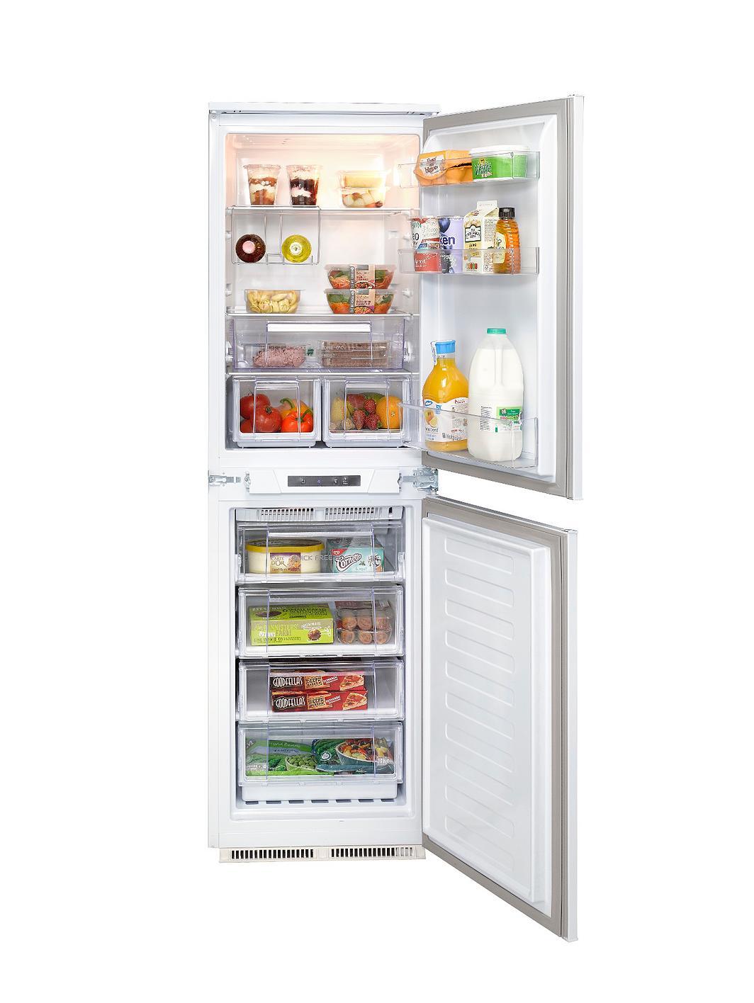 hotpoint hrf3114uk integrated fridge freezer. Black Bedroom Furniture Sets. Home Design Ideas