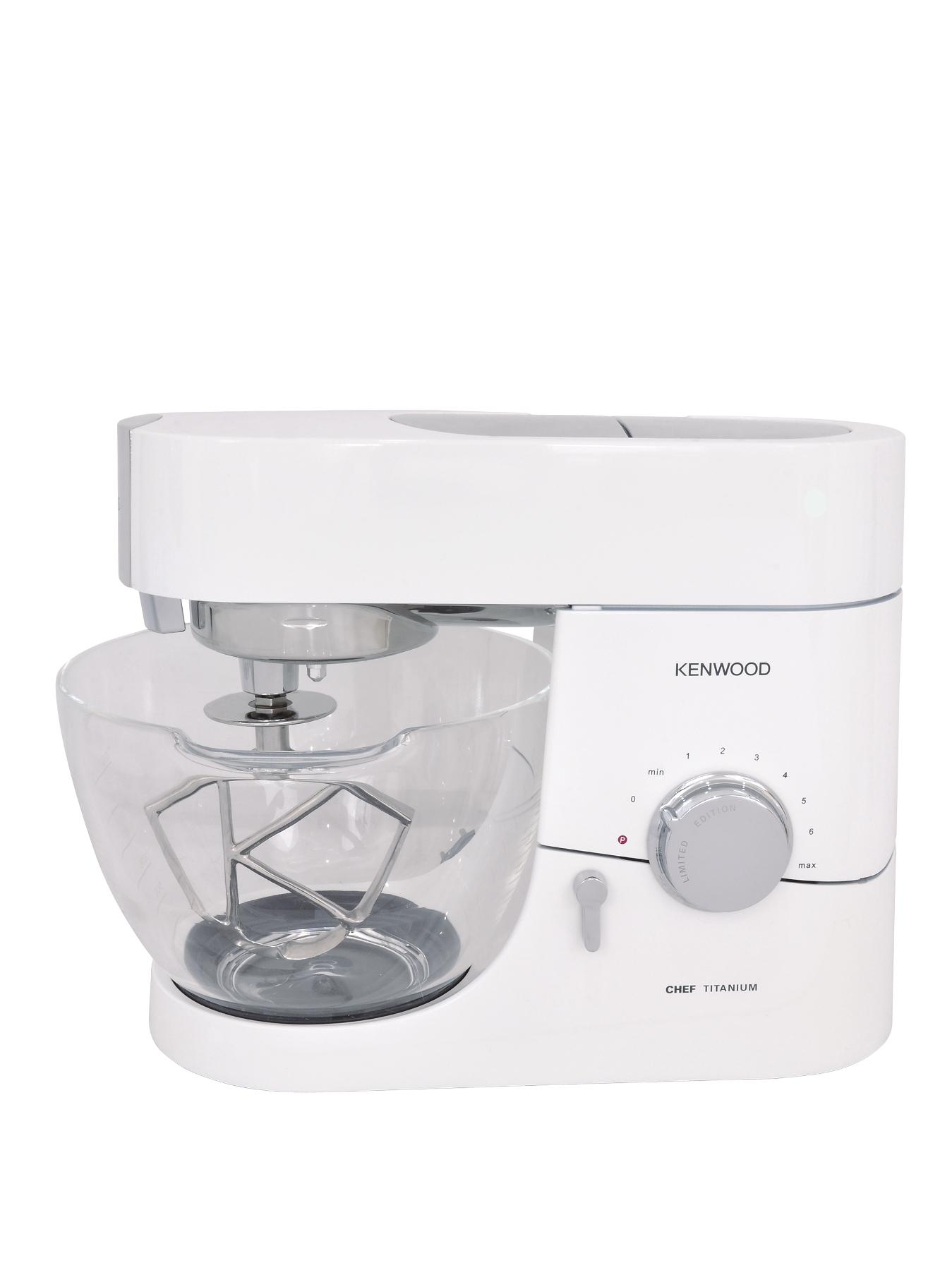 Kenwood Titanium Chef Kitchen Machine - Gloss White