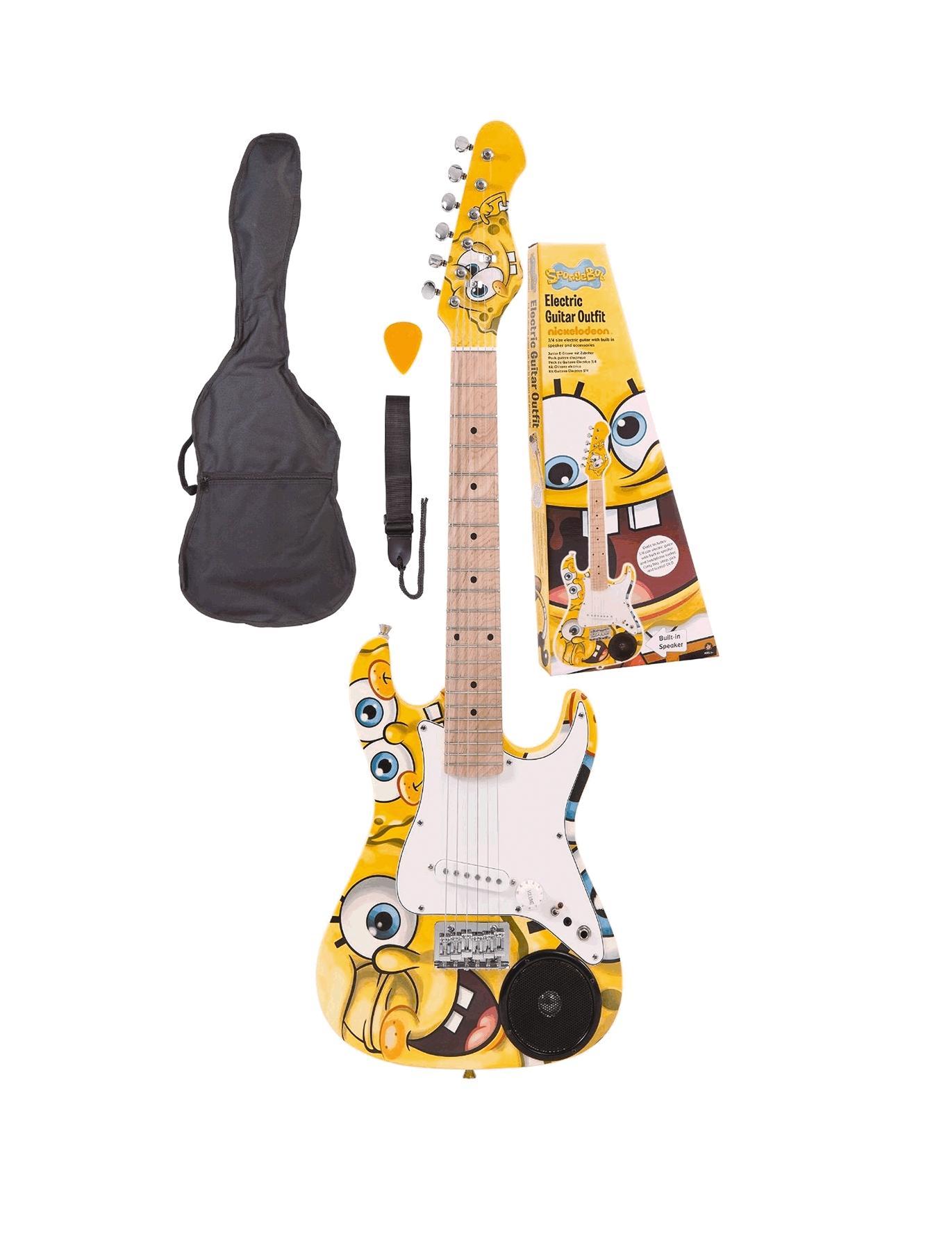 Spongebob Squarepants Electric Guitar Musical Instrument