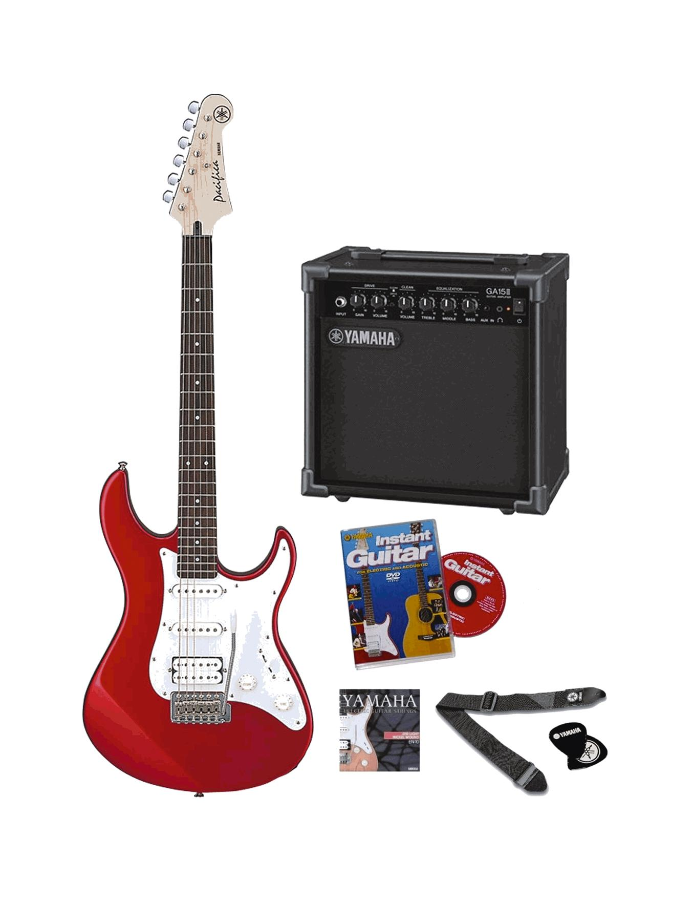 Yamaha Pacifica Electric Guitar Pack Musical Instrument
