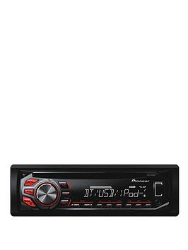 pioneer-deh-4600bt-cd-tuner-usb-ipodiphone-control-bt-red-and-white-display