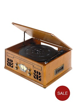 itek-it142-antique-record-cd-and-cassette-player