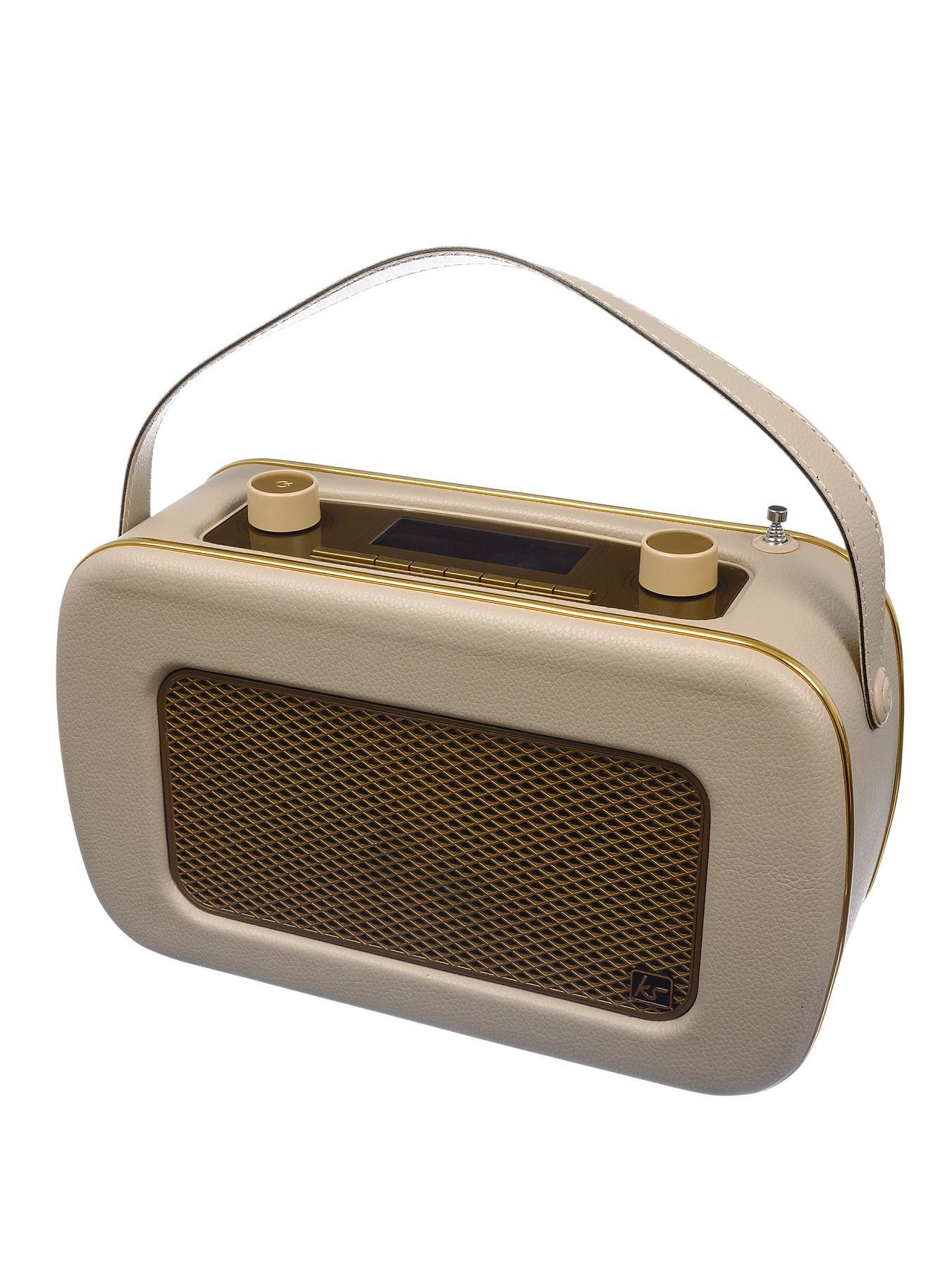 Kitsound Jive DAB Radio - Cream