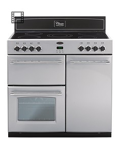 belling-90dft-90cm-double-oven-electric-classic-range-cooker-silver