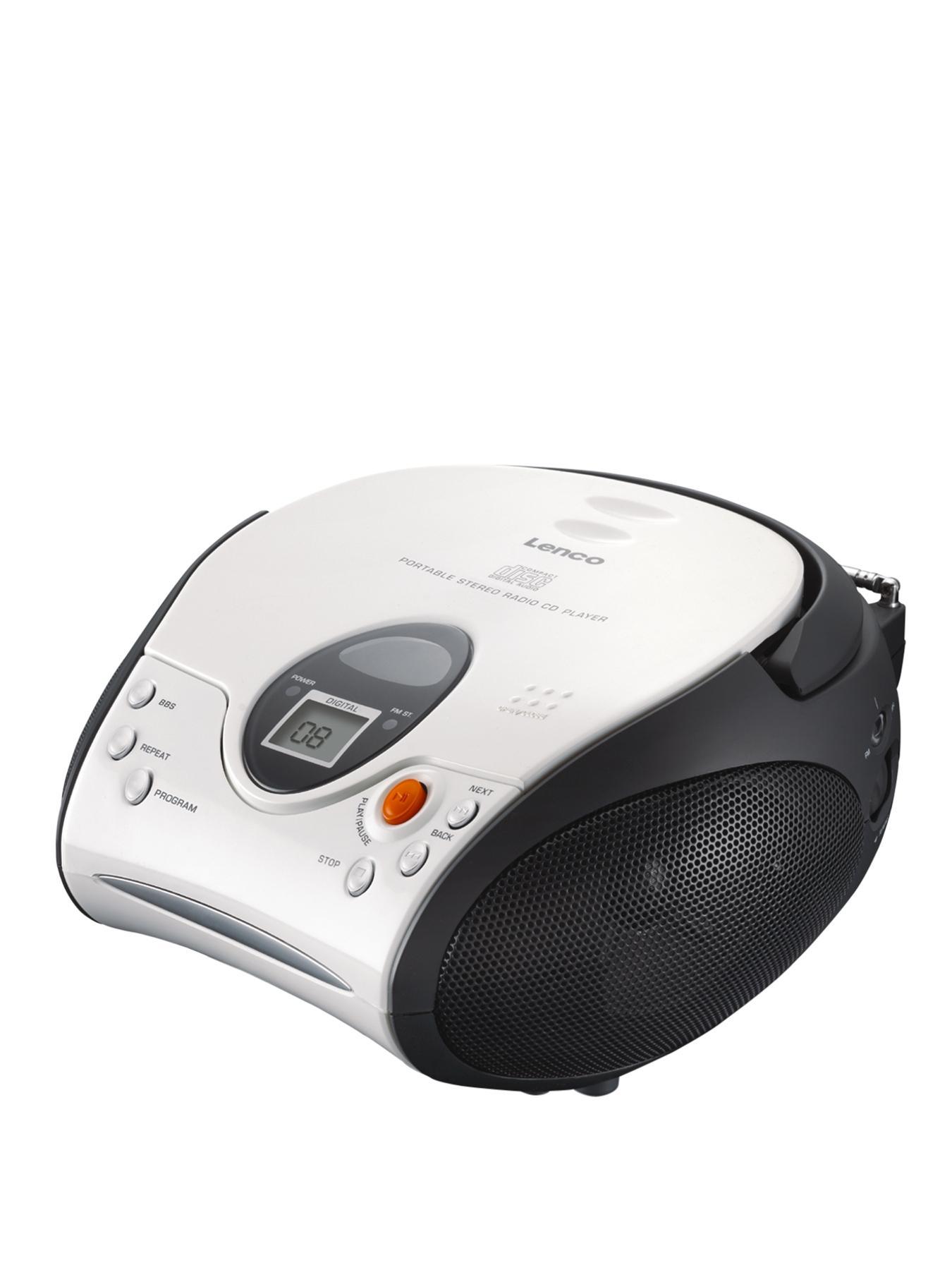 Lenco Portable Cd Player- White