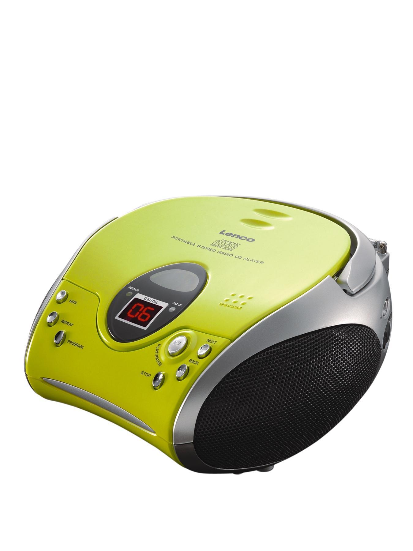 Lenco Portable Cd Player- Green