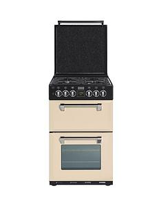 stoves-richmond-550dfw-55cm-double-oven-dual-fuel-mini-range-cooker-champagne