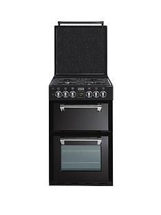 stoves-richmond-550dfw-55cm-double-oven-dual-fuel-mini-range-cooker-black