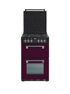 stoves-550dfw-55-cm-double-oven-dual-fuel-richmond-mini-range-cooker-wild-berry