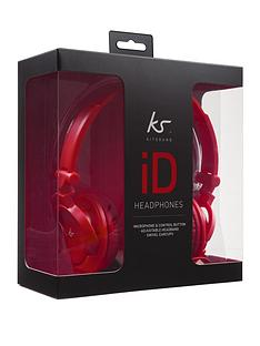kitsound-id-on-ear-headhones-with-microphone-red