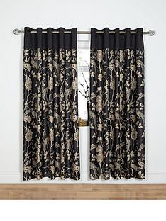 laurence-llewelyn-bowen-royal-rose-garden-eyelet-curtains