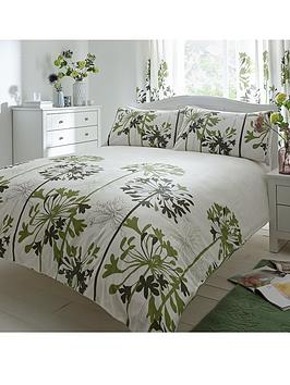Agapanthus Duvet Cover and Pillowcase Set