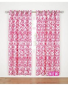 dramatic-damask-eyelet-curtains-hot-pink