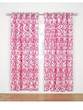 dramatic-damask-eyelet-curtains-hot-pink