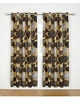 Love Me Eyelet Curtains - Natural