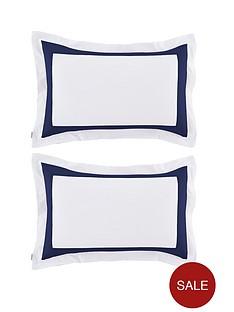 bianca-cottonsoft-bianca-tailored-single-oxford-pillowcase-navy