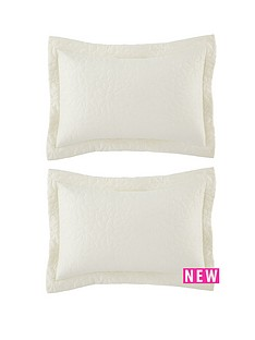 catherine-lansfield-floral-pillow-sham-pair