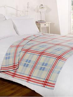 fleece-blanket-tartan-blue