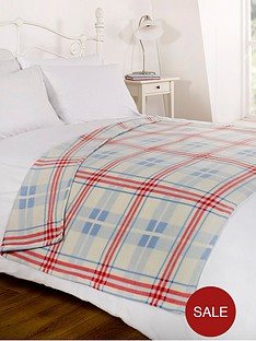 fleece-blanket-tartan-blue