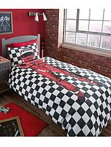 Racing Driver Single Duvet Cover Set