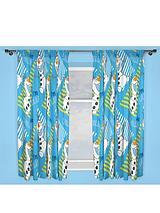 Olaf Chillin Curtains