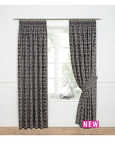 laurence-llewelyn-bowen-chenille-jacquard-pleated-curtains